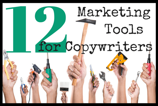 12 marketing tools for copywriters