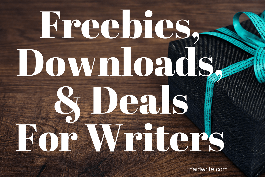 Freebies,Downloads,& Deals For Writers (1)