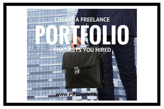 create freelance portfolio