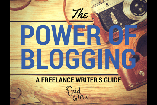 blogging for freelancers