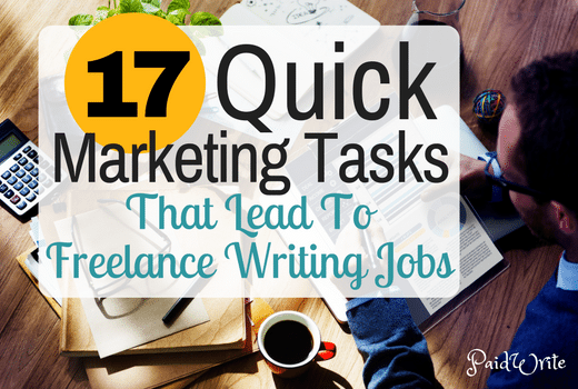 how to potential clients market your lance writing services 17 quick marketing tasks that lead to lance writing jobs
