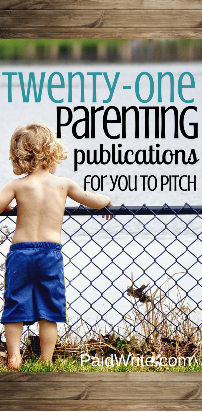 21 parenting publications for you to pitch
