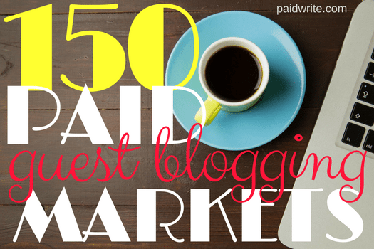 150 paid guest blogging markets