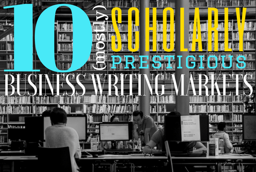 10 scholarly business writing markets