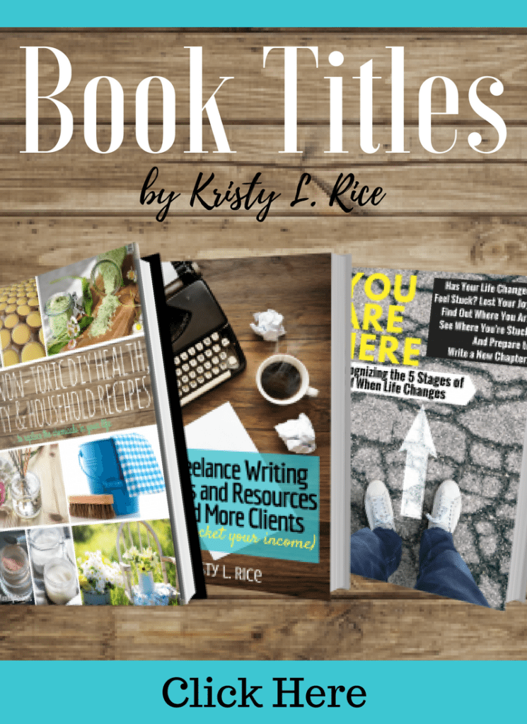 Other books by Kristy L. Rice