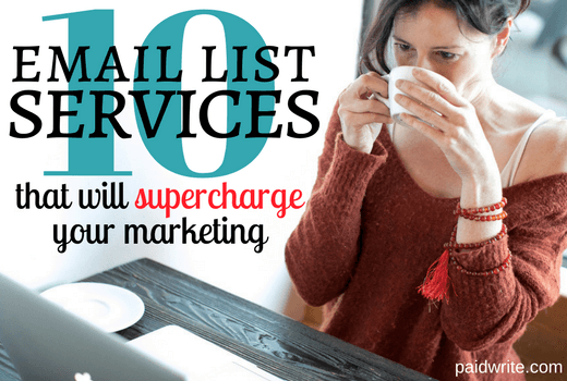 10 email list services that will supercharge your marketing